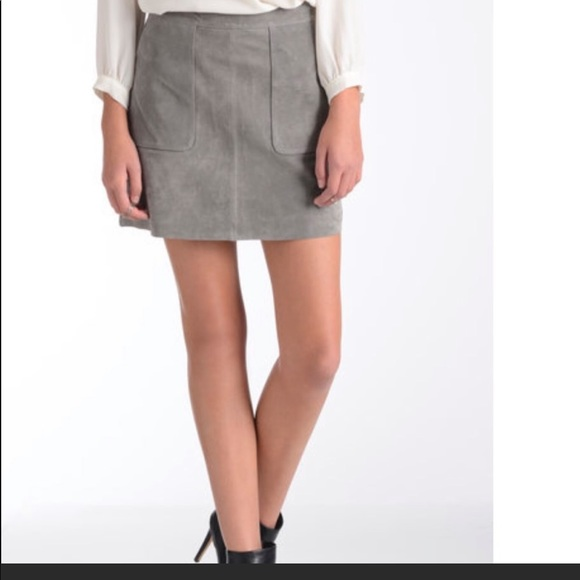 Willow & Clay Dresses & Skirts - Willow & clay grey suede